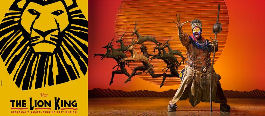 The Lion King at Smith Center