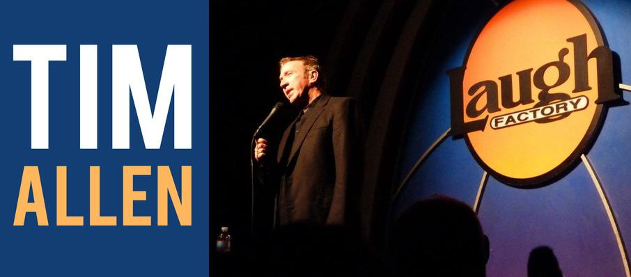 Tim Allen at Terry Fator Theatre