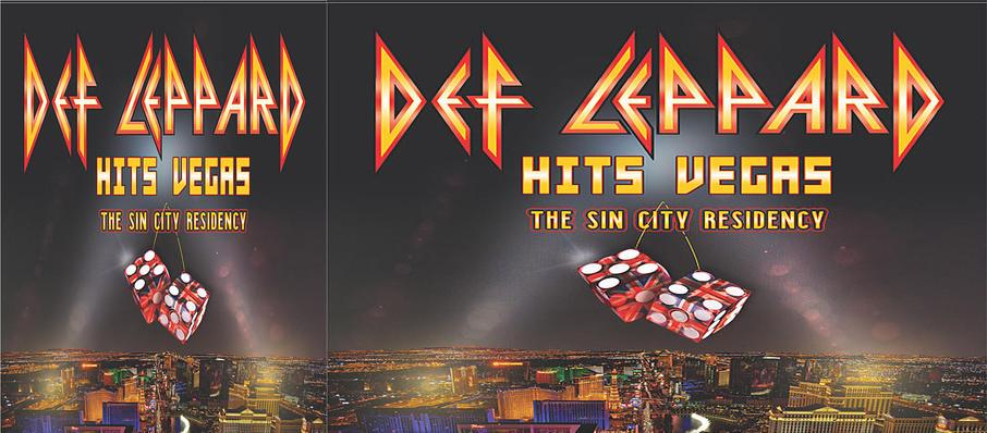 Def Leppard at Zappos Theater at Planet Hollywood