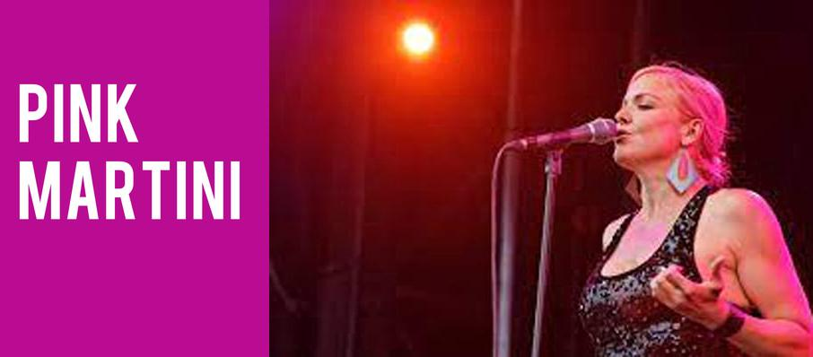 Pink Martini at Smith Center