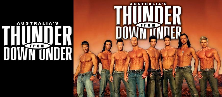 Thunder From Down Under at Thunder From Down Under Theatre