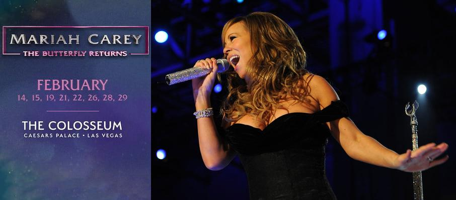 Mariah Carey at The Colosseum at Caesars
