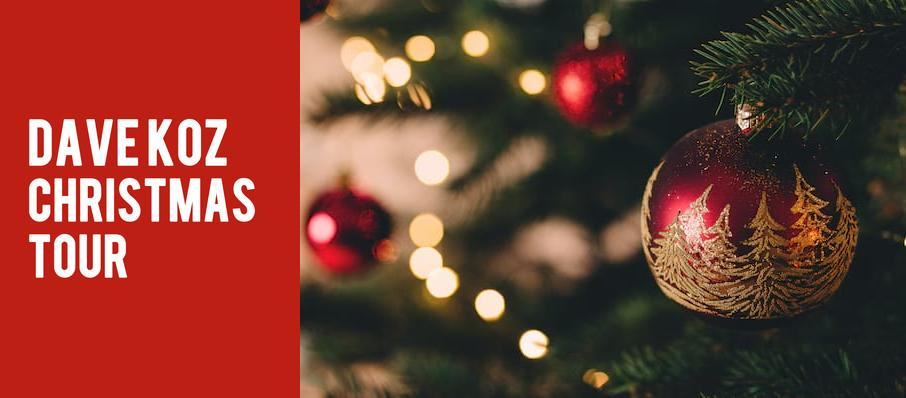 Dave Koz Christmas Tour at Red Rock Casino