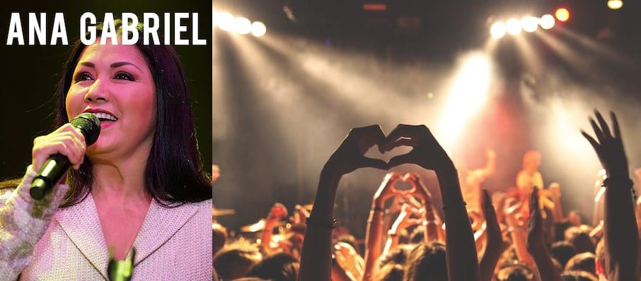 Ana Gabriel at Mandalay Bay Events Center