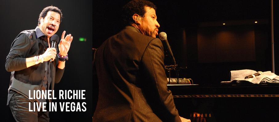 Lionel Richie at Zappos Theater at Planet Hollywood