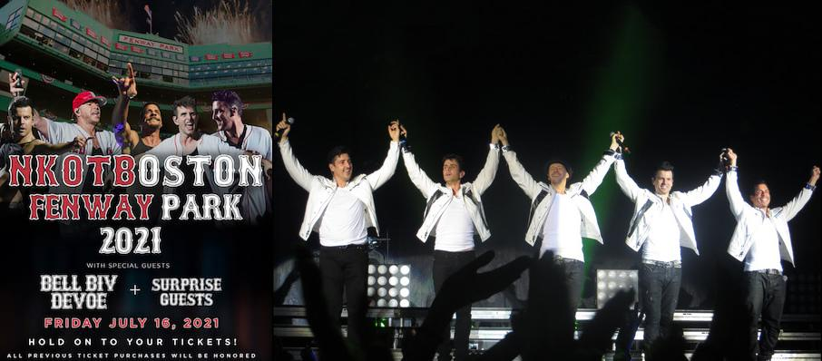 New Kids On The Block at Mandalay Bay Events Center