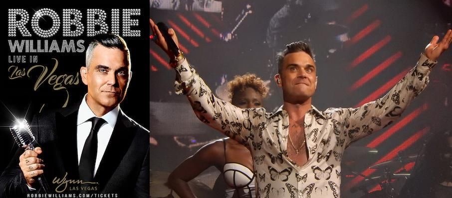 Robbie Williams at Encore Theatre