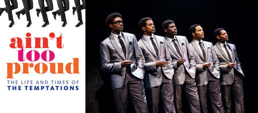 Ain't Too Proud - The Life and Times of the Temptations at Smith Center