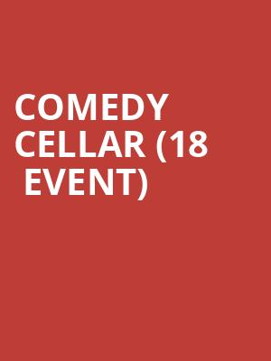 Comedy Cellar (18+ Event) at Chippendales Theater