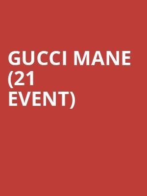 Gucci Mane (21+ Event) Tickets Calendar - Jul 2019 - Tao Nightclub