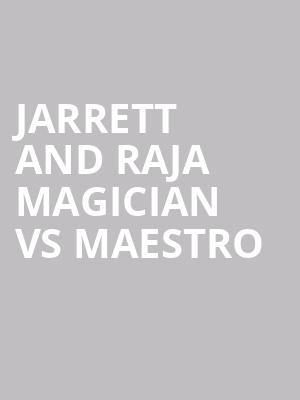 Jarrett and Raja Magician vs Maestro at Stratosphere Las Vegas