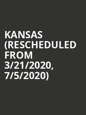 Kansas (Rescheduled from 3/21/2020, 7/5/2020) at Smith Center