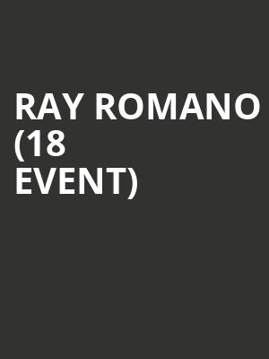 Ray Romano (18+ Event) at Terry Fator Theatre