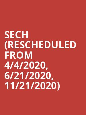 Sech (Rescheduled from 4/4/2020, 6/21/2020, 11/21/2020) at The Boulevard Pool at The Cosmopolitan
