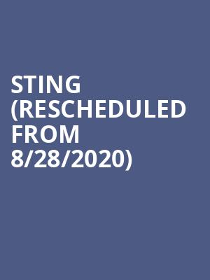 Sting (Rescheduled from 8/28/2020) at Caesars Palace Event Center