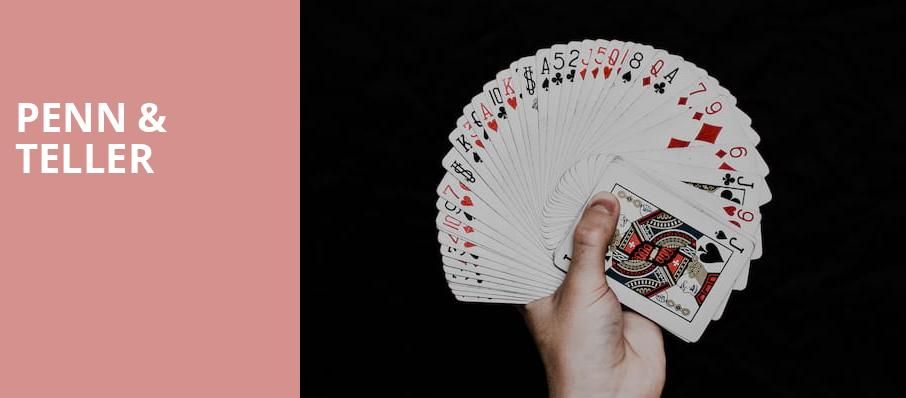 Penn Teller, Penn and Teller Theater, Las Vegas