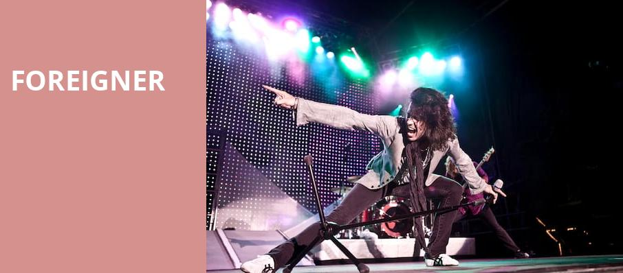 Foreigner, The Chelsea, Las Vegas
