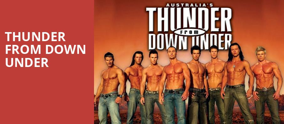 Thunder From Down Under, Thunder From Down Under Theatre, Las Vegas