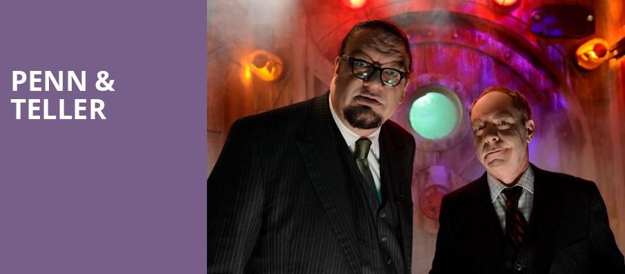 Penn Teller Penn And Teller Theater Las Vegas Nv Tickets Information Reviews