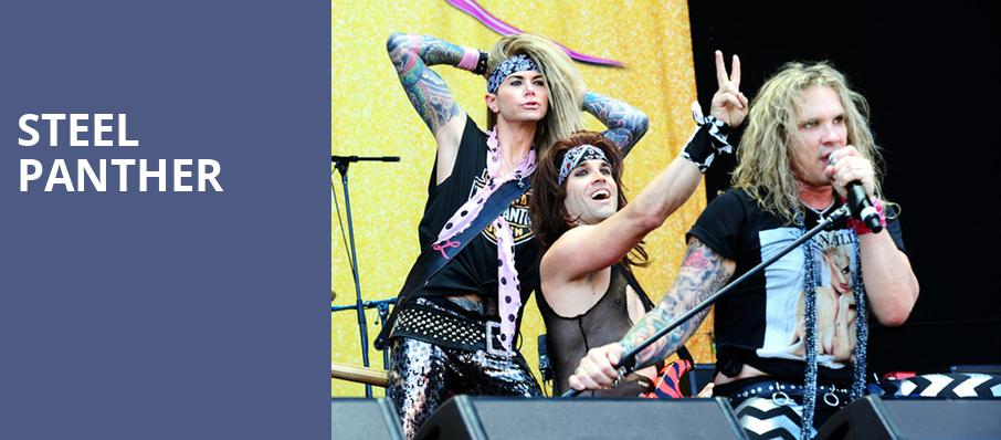 Steel Panther, House of Blues, Las Vegas