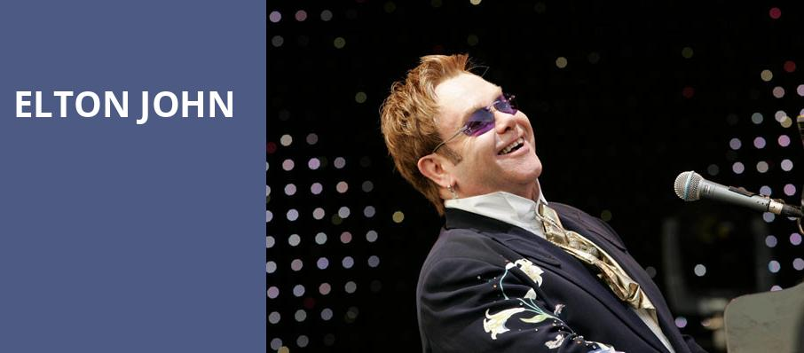 Elton John, The Colosseum at Caesars, Las Vegas