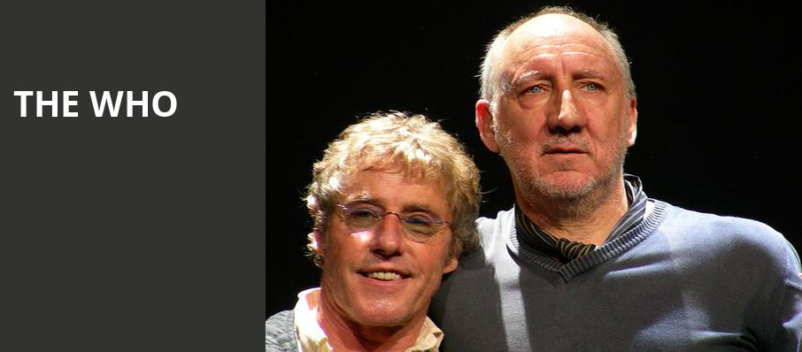 The Who, The Colosseum at Caesars, Las Vegas