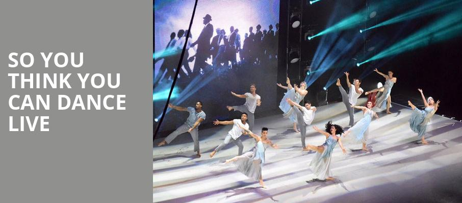 So You Think You Can Dance Live, Palms Casino Resort, Las Vegas