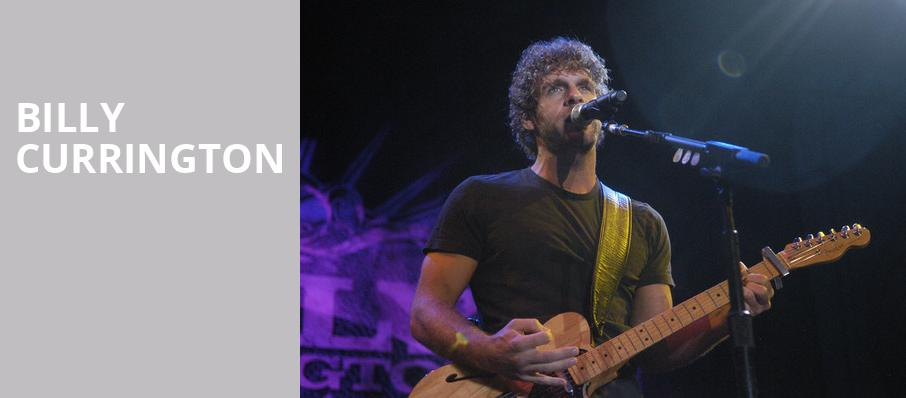 Billy Currington, Red Rock Casino, Las Vegas