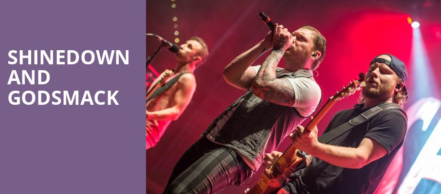 Shinedown and Godsmack, Downtown Las Vegas Events Center, Las Vegas