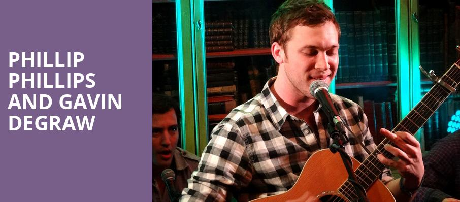 Phillip Phillips and Gavin DeGraw, Pearl Concert Theater, Las Vegas