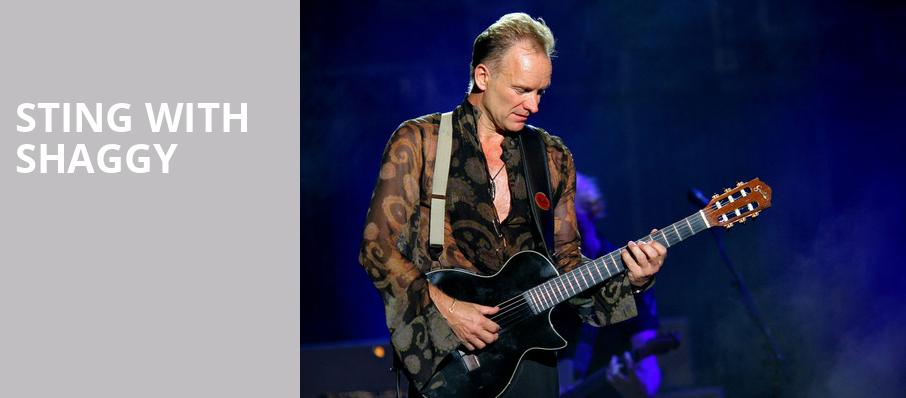 Sting with Shaggy, Monte Carlo Hotel and Casino Pavilion, Las Vegas