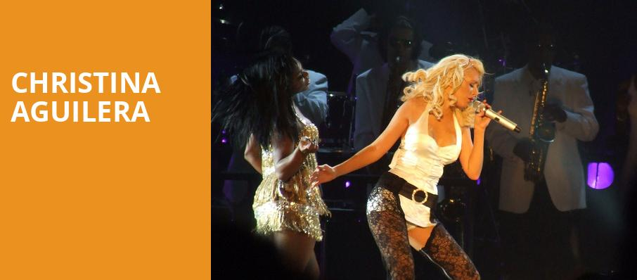 Christina Aguilera, Zappos Theater at Planet Hollywood, Las Vegas