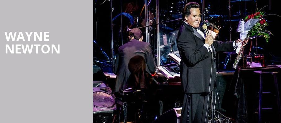 Wayne Newton, The Colosseum at Caesars, Las Vegas