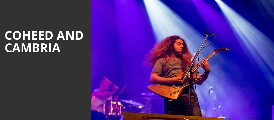 Coheed and Cambria, Brooklyn Bowl, Las Vegas