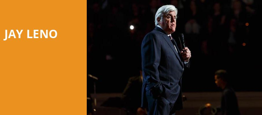 Jay Leno, Tuacahn Amphitheatre and Centre for the Arts, Las Vegas