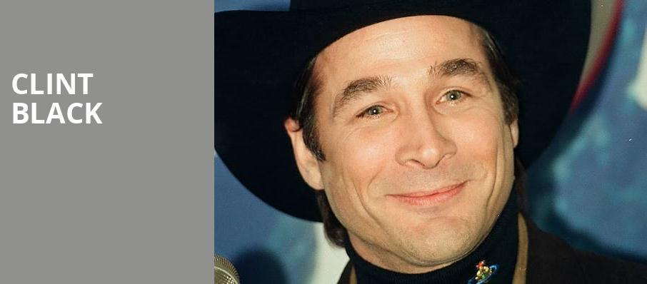 Clint Black, Grand Event Center Golden Nugget, Las Vegas