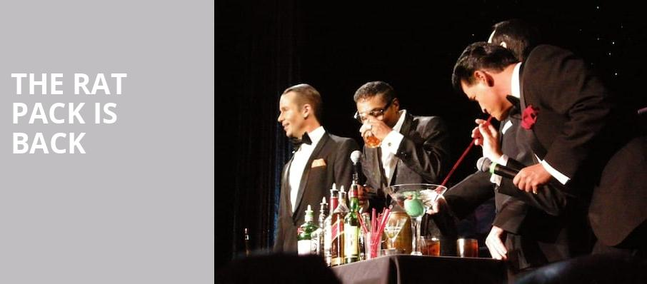 The Rat Pack Is Back, Tuscany Suites Casino, Las Vegas