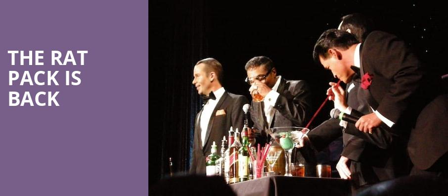 The Rat Pack Is Back, Tuacahn Amphitheatre and Centre for the Arts, Las Vegas