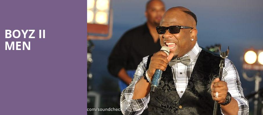 Boyz II Men, Terry Fator Theatre, Las Vegas