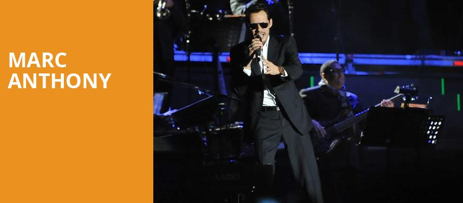 Marc Anthony, Zappos Theater at Planet Hollywood, Las Vegas