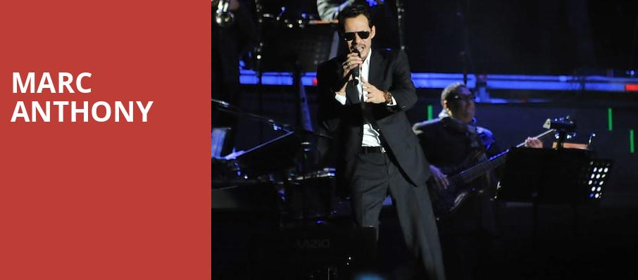 Marc Anthony, Mandalay Bay Events Center, Las Vegas